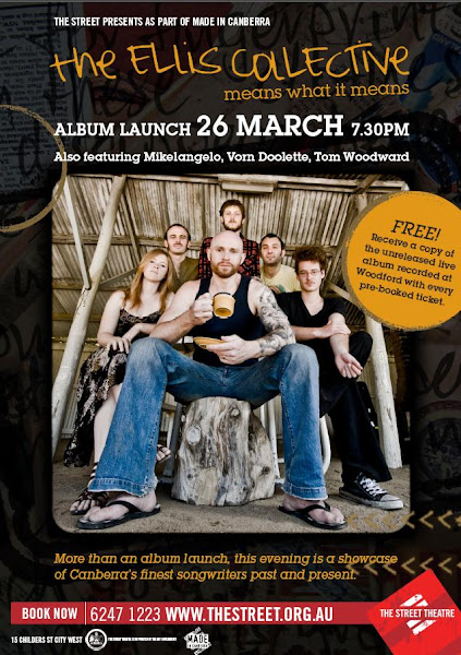 The Ellis Collective launch poster