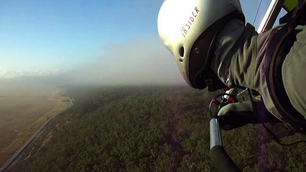 lake george hang gliding