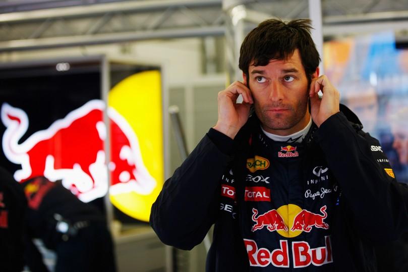 Марк Уэббер потирает уши на Гран-при Турции 2011