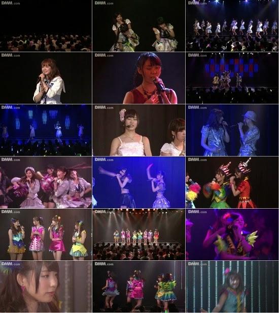 """(LIVE)(公演) NMB48 チームN """"ここにだって天使はいる"""" 山岸奈津美の生誕祭 140912 & 140915 & 140916"""