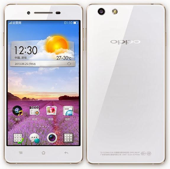 Oppo R1 - Spesifikasi Lengkap dan Harga, Smartphone Tipis Harga Murah