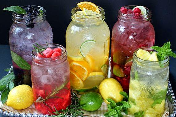 Health Tips: Infused water with fruit and herbs recipes