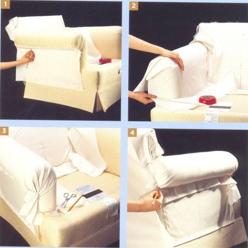 Простой чехол для кресла