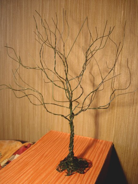 Из чего можно сделать деревья