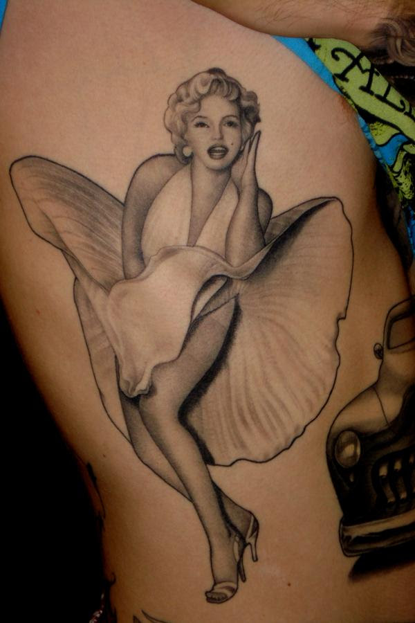 Татуировки с мерлин монро