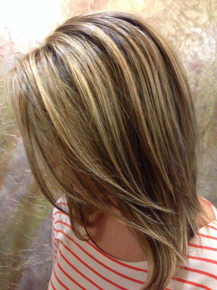 Как сделать мелирование на длинные волосы