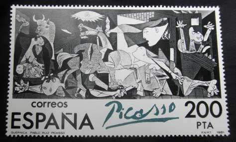 El Guernica de Picasso - sello