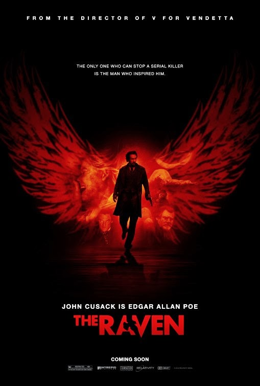Poster Of The Raven (2012) Full Movie Hindi Dubbed Free Download Watch Online At alldownloads4u.com