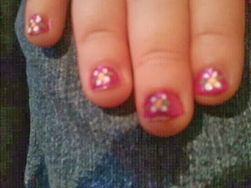 My  yr old Granddaughters nails