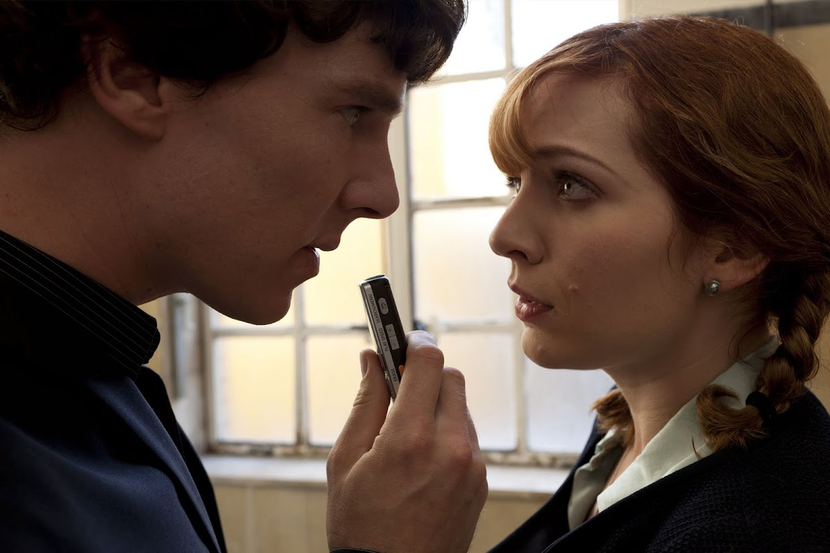 Sherlock and Kitty Riley
