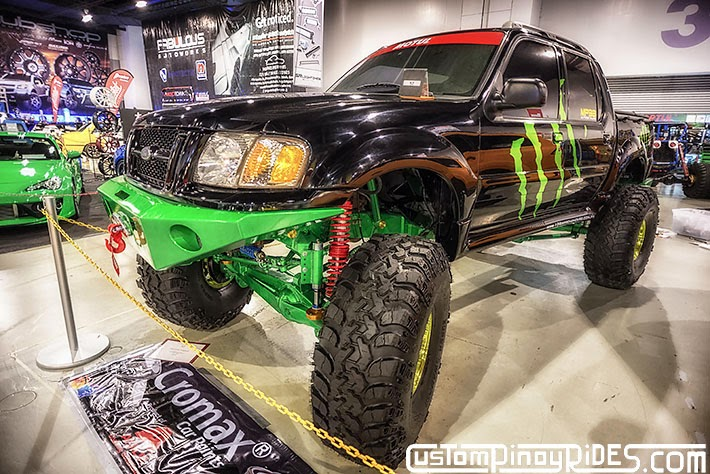 Some of the Best Modified 4x4s of 2013 Manila Auto Salon Custom Pinoy Rides Car Photography Philippines Philip Aragones Ford Rig