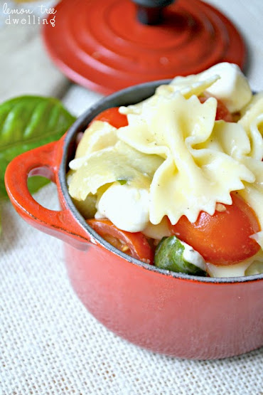 Caprese Artichoke Pasta Salad 2