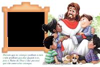 molduras-para-fotos-gratisjesus-e-as-criancas
