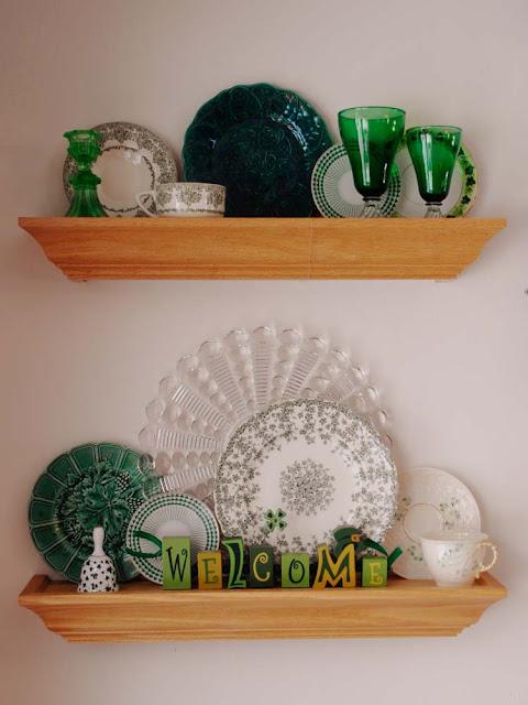 St Patricks plates
