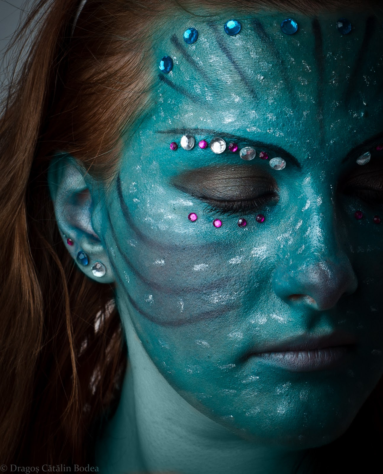 Neytiri Avatar: True Colours Of Make-up: Neytiri Avatar
