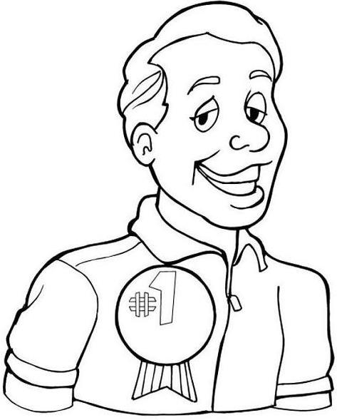 1 Dad Coloring Pages