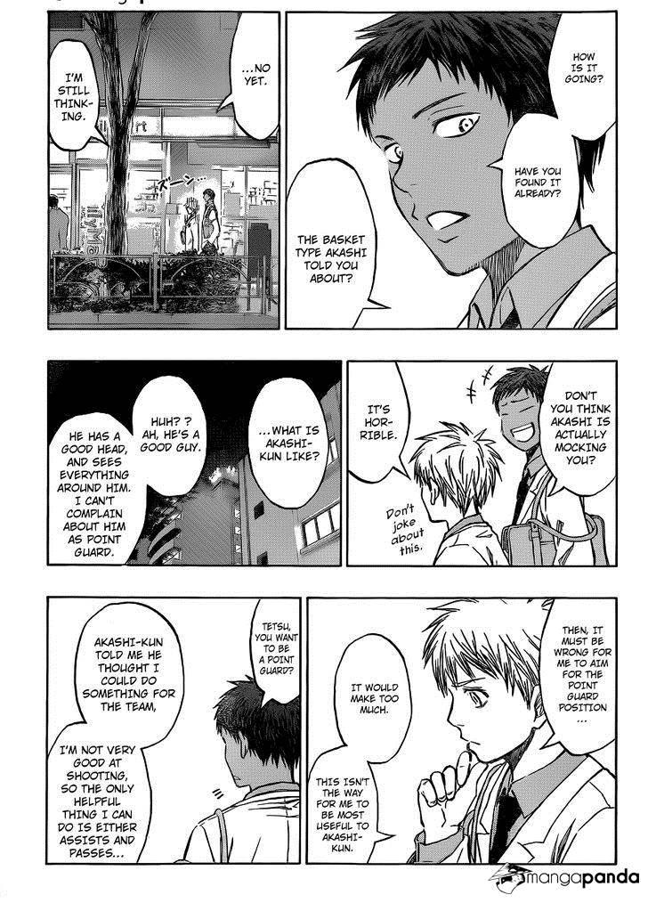 Kuroko no Basket Manga Chapter 206 - Image 12