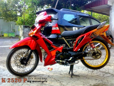 Modifikasi Road Race Honda Supra X 125
