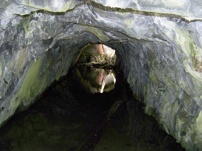 La galerie du niveau 0 et 1 du Pont du Pretre