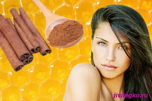 Мед и корица для лица