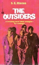 THE OUTSIDERS by S.E. Hinton (mass-market PB)