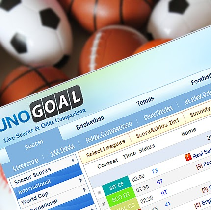 Unogoal livescore real time