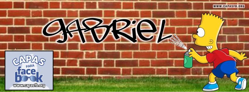Capas para Facebook Gabriel