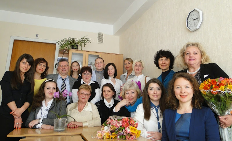 STAFF OF THE CHAIR of Foreign Languages for the Science Faculties