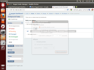 Puppet-dashboard work well but can't see any node - Google Groups