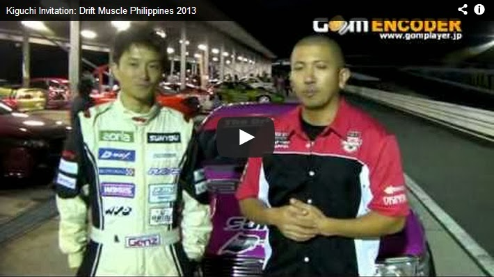 Kenji Kiguchi Invitation to Drift Muscle Philippines 2013 Custom Pinoy Rides
