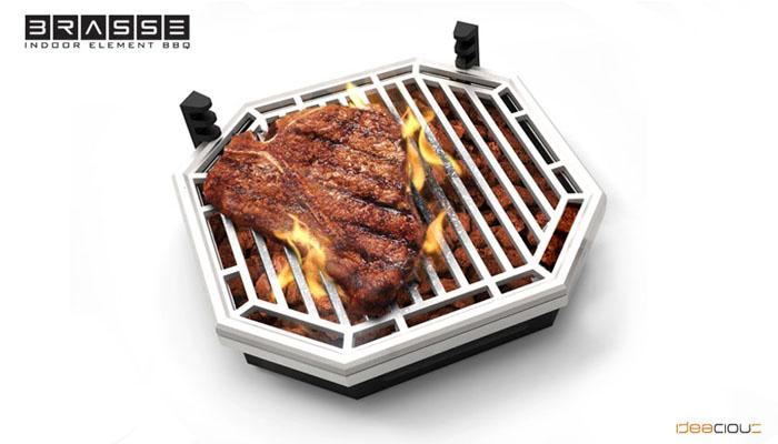 *瓦斯爐上也可以享受BBQ美味:Brassé BBQ室內無煙燒烤爐架! 2