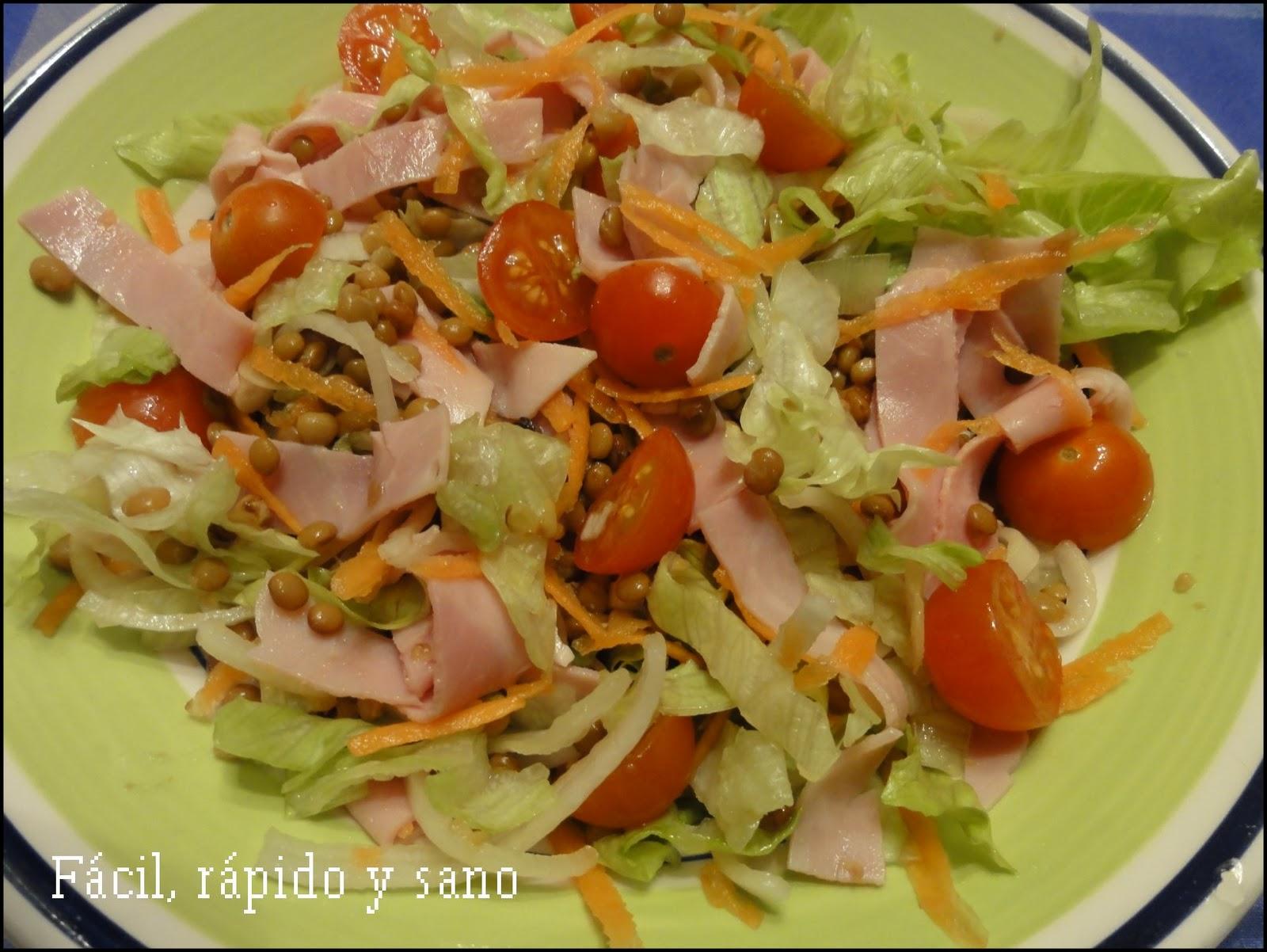 F cil r pido y sano cocina para gente sin tiempo marzo 2011 - Que hago de comer rapido y sencillo ...