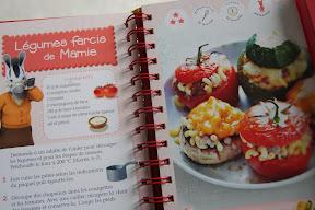 livre recettes enfants l'atelier de cuisine de Zou
