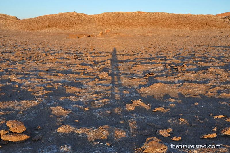 Atacama is in Valle de la Luna (Moon Valley) in San Pedro de Atacama, Chile. We went there for a week when we needed to renew our visas in Argentina.