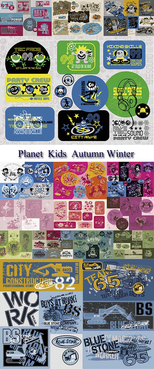 Stock:  Planet  Kids  Autumn Winter