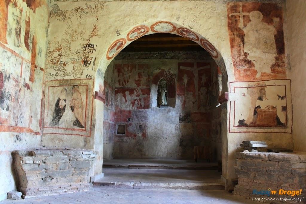 freski w kościele w szydlowie