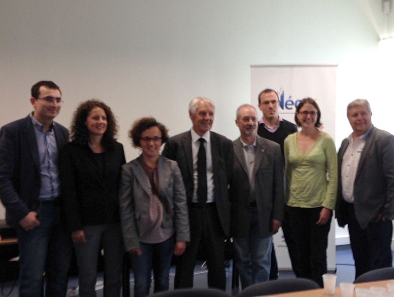 Rencontre avec la Jeune chambre économique de Vannes au siège du groupe Néo56 le 17 juin 2016 à Elven
