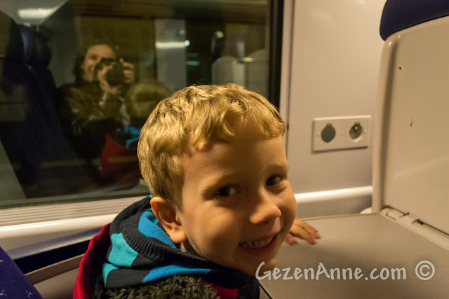Cote d'Azur'da SNCF treninde seyahat ederken