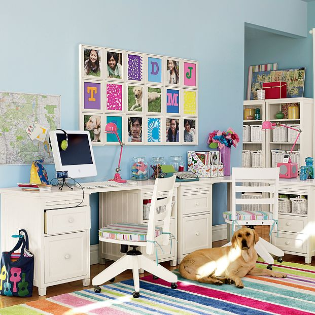 Kids study room furniture designs home office decoration home office decorating ideas - Study room furniture designe ...