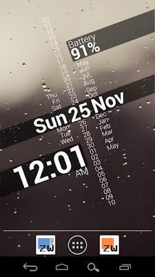 *最時尚又特殊的時鐘小工具:Zooper Widget (Android App) 1
