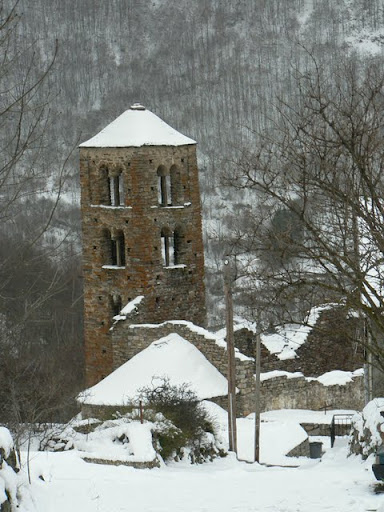 Romanesque Church (10th-11th century), Merens Les Vals, French Pyrenees