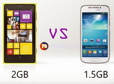 Samsung Galaxy S4 Zoom dan Nokia Lumia 1020