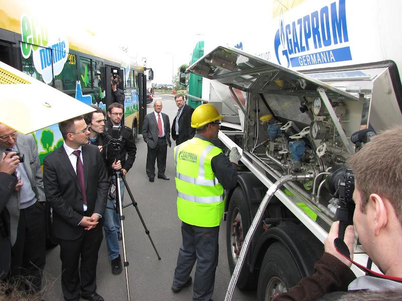Gazprom Germania wyraża mocne zainteresowanie dla dostaw metanu w Polsce