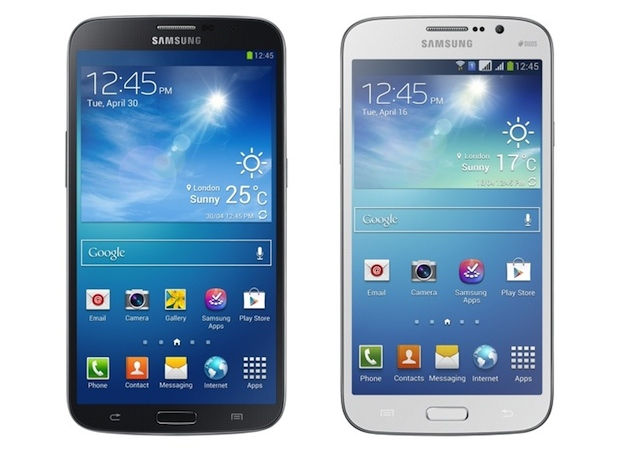 Samsung Galaxy Mega 6.3 and Mega 5.8 Now Available