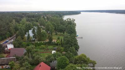 na zdjęciu Wdzydze Kiszewskie widok z wieży