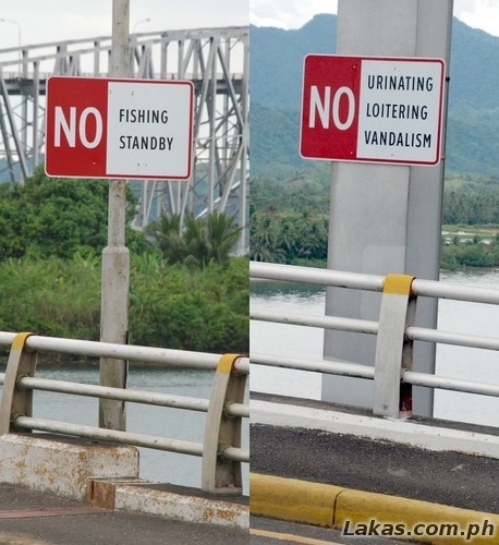 NO signs of San Juanico Bridge