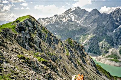 Lünersee Roßberg Rätikon Vorarlberg