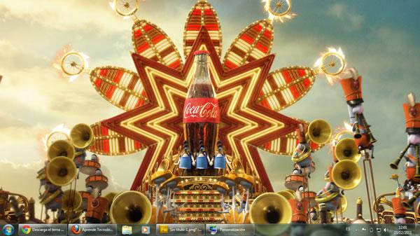 Tema Coca Cola 2012