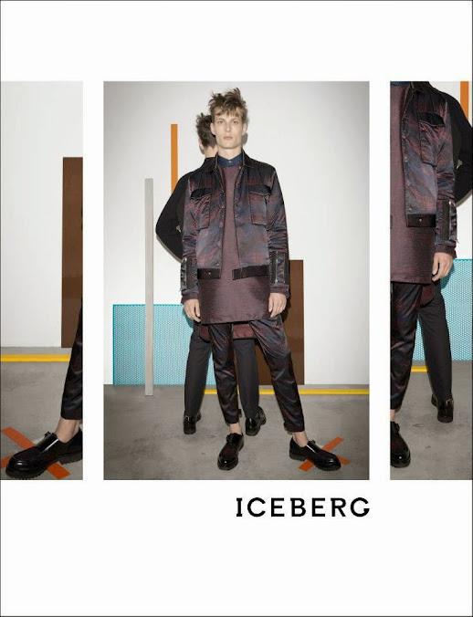Iceberg, menswear, campaña otoño invierno 2014