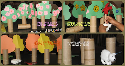 Toilet paper roll tree Season play